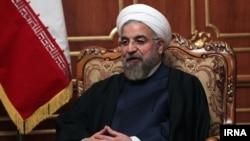 Presiden Iran Hassan Rouhani.