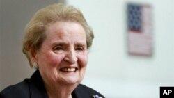 Cựu Ngoại trưởng Hoa Kỳ Madeleine Albright.