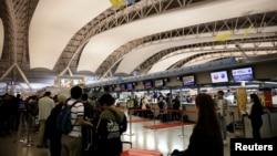 日本大阪关西机场一角 (资料照片)