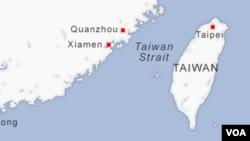Tajvanski moreuz, vodeni put između Tajvana i Kine.