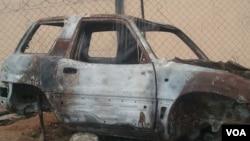Joaquim Lutambi acusa de mandar queimar carros