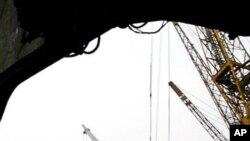 미국 지원 물품을 싣고 평양 남포항으로 들어온 선박 (자료사진).