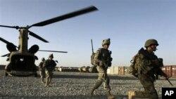 تلفات عساکر ناتو در جنوب افغانستان
