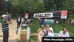 CHP İstanbul'da Adalet Nöbeti Başlattı