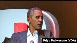 Perezida Obama Yahoze Atwara Amerika