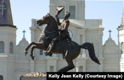 Statue of Andrew Jackson in New Orleans, Louisiana