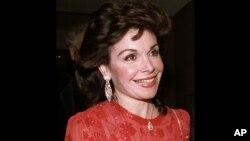 Nữ diễn viên Annette Funicello (Ảnh AP 20/10/1990)