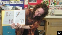 """Codell's first year of teaching inspired her diary book, """"Educating Esme"""""""