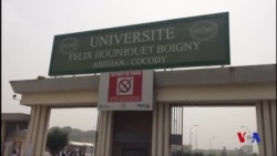Grève à l'Université Félix Houphouet Boigny (vidéo)