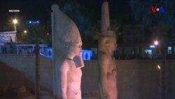 Misirdə II Ramzesin heykəli bərpa edilib
