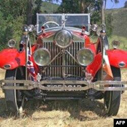 Chiếc xe Rolls-Royce Phantom màu đỏ tươi có mạ bạc Torpedo Tourer 1925