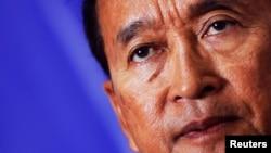 柬埔寨全国救国党领袖桑兰西