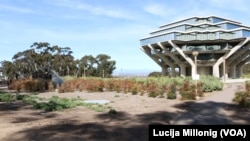 The Geisel Library at the University of California San Diego.