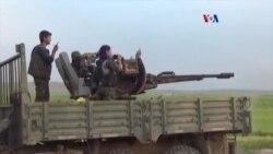 Fuerzas kurdas preparan la ofensiva en Raqqa