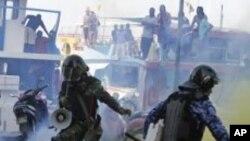 مالدیپ: سابق صدر کے حامیوں اور پولیس میں جھڑپیں