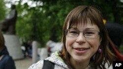Анастасия Кудрявцева, представитель оппозиционной молодежи