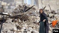 Kerusakan pasca gempa bumi yang mengguncang Bushehr, daerah dekat reaktor nuklir Iran, bulan April lalu (Foto: dok). Wilayah ini kembali diguncang gempa, Senin (6/5).
