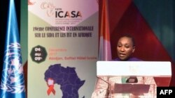 Ivorian Health Minister and ICASA 2017 Vice-President Raymonde Goudou Coffie. (File)