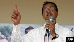 Tòa án tối cao Campuchia giữ nguyên phán quyến về bản án 2 năm tù đối với lãnh tụ đối lập Sam Rainsy vì tội nhổ cột mốc biên giới với Việt Nam