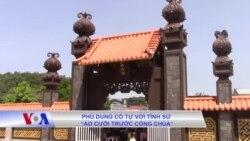 """Phù Dung cổ tự với tình sử """"áo cưới trước cổng chùa"""""""