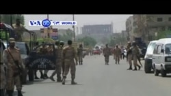 VOA60 DUNIYA: A Pakistan Akalla Mutane 43 Suka Mutu, Mayu 13 , 2015
