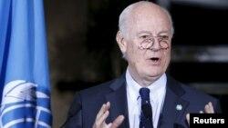 联合国叙利亚问题特使德米斯图拉