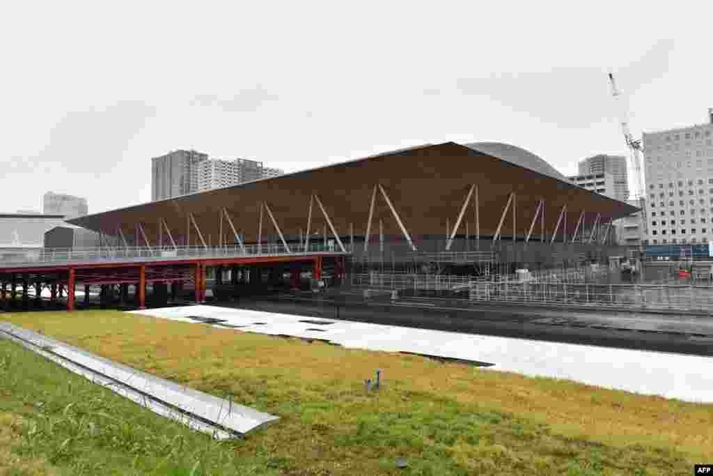 جاپان کا 'اریاکا جمناسٹک سینٹر۔' جیسا کہ نام سے ظاہر ہے کہ یہاں جمناسٹک اور بعد ازاں معذوروں کے اولمپکس مقابلے ہوں گے۔