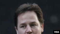 Wakil Perdana Menteri Inggris Nick Clegg.