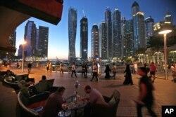 Susana di kawasan Dubai Marina, Uni Emirat Arab (foto: ilustrasi).