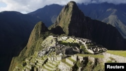 Vue générale de la citadelle inca de Machu Picchu à Cusco au Pérou, 2 décembre 2014. (Reuters/Enrique Castro-Mendivil)
