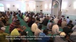 Imam Speaks to Orlando Shootings During Friday Prayers