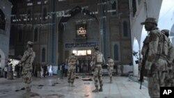 فروری میں سیہون میں صوفی بزرگ لعل شہباز قلندر کے مزار کے احاطے میں مہلک خودکش دھماکا ہوا تھا
