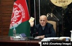 Presiden Afghanistan, Mohammad Ashraf Ghani, 14 November 2020.