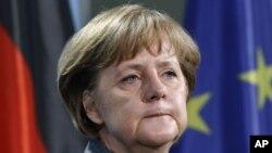 德國總理默克爾(資料照片)