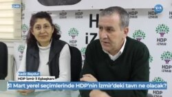 İzmir'deHDP'denCHP'liTunç Soyer'e Destek
