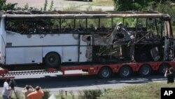 2012年7月19日在保加利亚针对以色列游客的自杀炸弹炸毁了客车