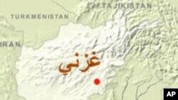 اصابت 5 فیر راکت به شهر غزنی و زخمی شدن یک مامور امنیتی