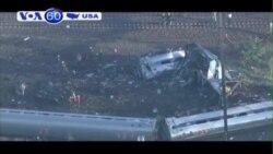 Amtrak trật đường ray ở Philadelphia, ít nhất sáu người chết (VOA60)