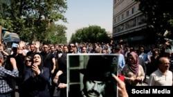 مراسم تشییع پیکر ناصر ملک مطیعی در تهران