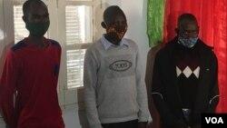 Militantes da UNITA que dizem ter sido agredidos