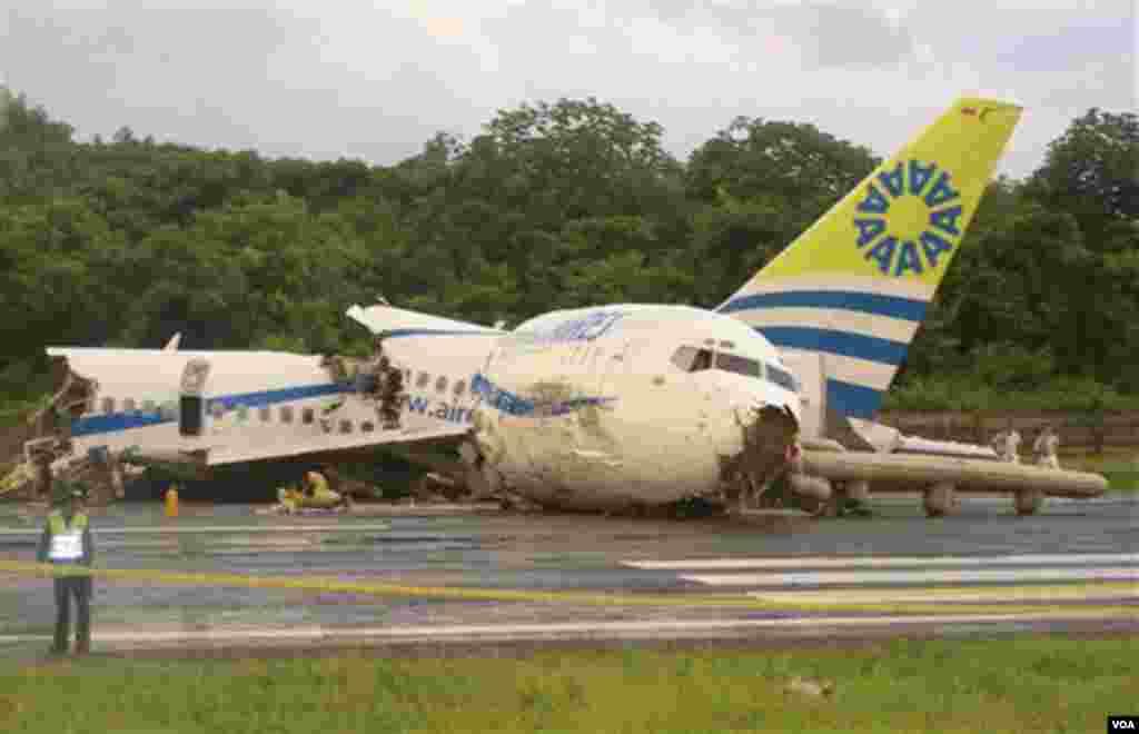 Avionska nesreća u Kolumbiji