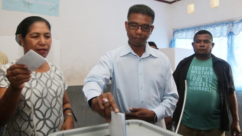 Former Guerrilla Fighter Set to Win East Timor Presidency