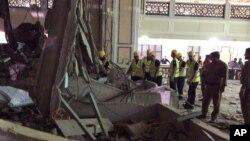 حادثه سقوط جرثقیل در مسجدالحرام