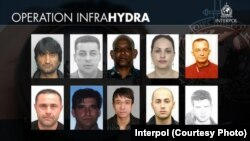 تصاویر ده تن از قاچاقبریکه پولیس بین المللی در جستجوی آنهاست