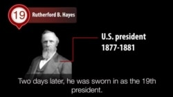 America's Presidents - Rutherford B. Hayes