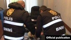 Polis cinayətkar qrupu zərərsizləşdirir