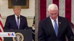 Hevdîtina Trump Û Pence Piştî Bûyera Kongresê