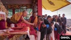 達賴喇嘛訪問達旺鎮