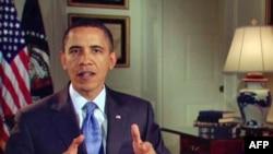 奥巴马在每周讲话中讨论最高法院裁决