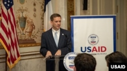 USAID Administrator Mark Green speaks about countering malign Kremlin influence. (July 2019)